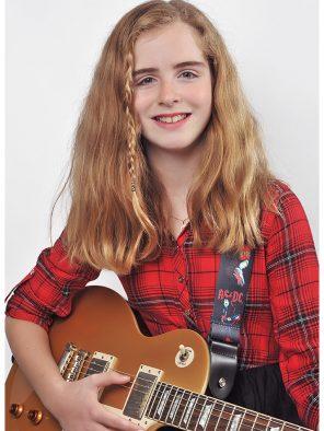 Oakville guitar student